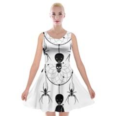 Voodoo Dream Catcher  Velvet Skater Dress