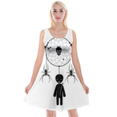 Voodoo Dream Catcher  Reversible Velvet Sleeveless Dress