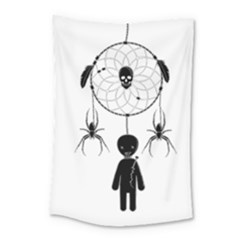 Voodoo Dream Catcher  Small Tapestry