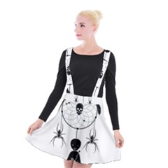 Voodoo Dream Catcher  Suspender Skater Skirt