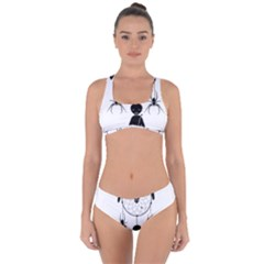 Voodoo Dream Catcher  Criss Cross Bikini Set