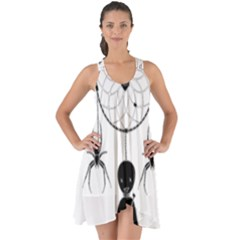 Voodoo Dream Catcher  Show Some Back Chiffon Dress