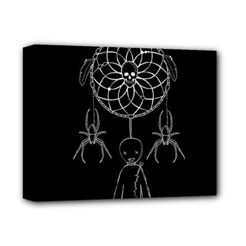 Voodoo Dream Catcher  Deluxe Canvas 14  X 11