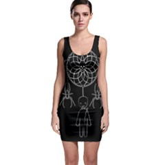Voodoo Dream Catcher  Bodycon Dress