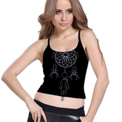 Voodoo Dream Catcher  Spaghetti Strap Bra Top