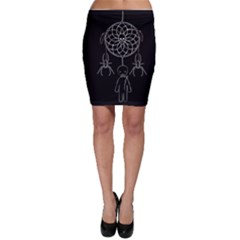 Voodoo Dream Catcher  Bodycon Skirt