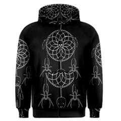 Voodoo Dream Catcher  Men s Zipper Hoodie