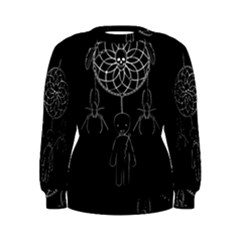 Voodoo Dream Catcher  Women s Sweatshirt