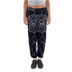 Voodoo Dream Catcher  Women s Jogger Sweatpants