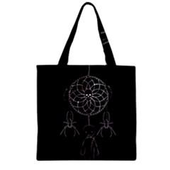 Voodoo Dream Catcher  Zipper Grocery Tote Bag