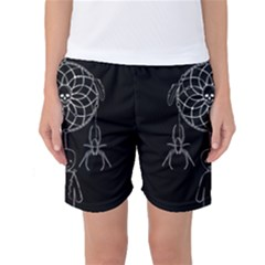 Voodoo Dream Catcher  Women s Basketball Shorts