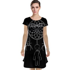 Voodoo Dream Catcher  Cap Sleeve Nightdress