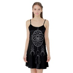 Voodoo Dream Catcher  Satin Night Slip