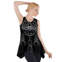 Voodoo Dream Catcher  Side Drop Tank Tunic
