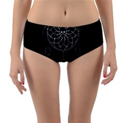 Voodoo Dream Catcher  Reversible Mid Waist Bikini Bottoms