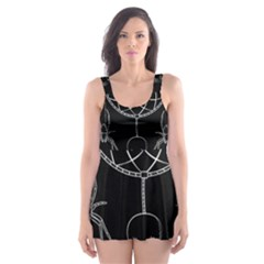 Voodoo Dream Catcher  Skater Dress Swimsuit