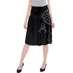 Voodoo Dream Catcher  Midi Beach Skirt