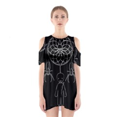 Voodoo Dream Catcher  Shoulder Cutout One Piece
