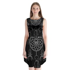 Voodoo Dream Catcher  Sleeveless Chiffon Dress