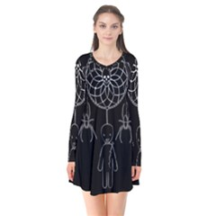 Voodoo Dream Catcher  Flare Dress