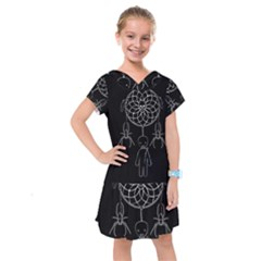 Voodoo Dream Catcher  Kids  Drop Waist Dress