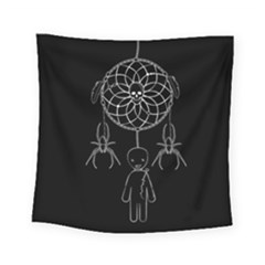 Voodoo Dream Catcher  Square Tapestry (small)