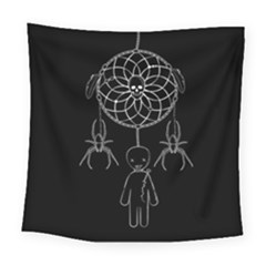 Voodoo Dream Catcher  Square Tapestry (large)