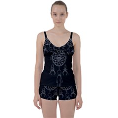 Voodoo Dream Catcher  Tie Front Two Piece Tankini