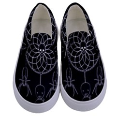 Voodoo Dream Catcher  Kids  Canvas Slip Ons