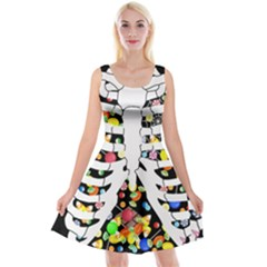 Trick Or Treat  Reversible Velvet Sleeveless Dress