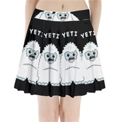 Yeti Pleated Mini Skirt