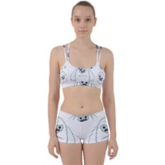 Yeti   I Saw A Man Women s Sports Set