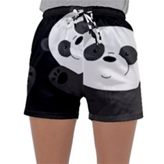 Cute Pandas Sleepwear Shorts