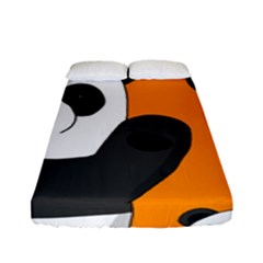 Cute Pandas Fitted Sheet (full/ Double Size)