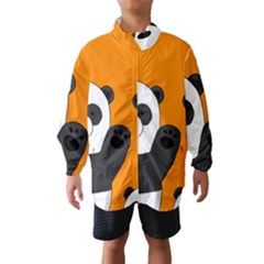 Cute Pandas Wind Breaker (kids)