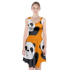 Cute Pandas Racerback Midi Dress