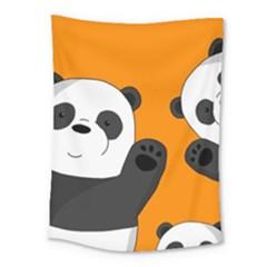 Cute Pandas Medium Tapestry