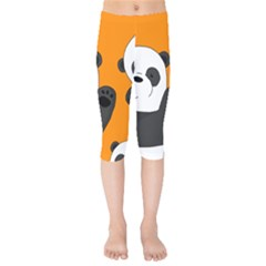 Cute Pandas Kids  Capri Leggings