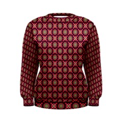 Kaleidoscope Seamless Pattern Women s Sweatshirt
