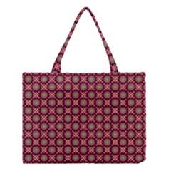 Kaleidoscope Seamless Pattern Medium Tote Bag
