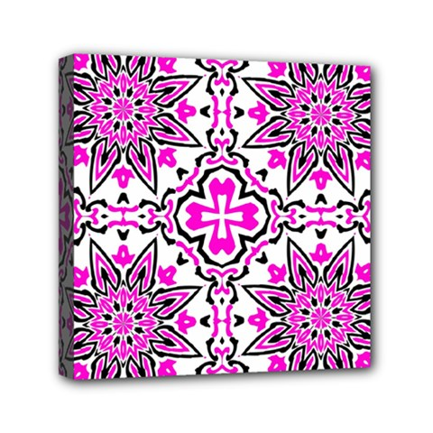 Oriental Pattern Mini Canvas 6  X 6