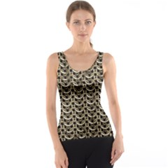 Sparkling Metal Chains 01a Tank Top