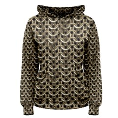 Sparkling Metal Chains 01a Women s Pullover Hoodie