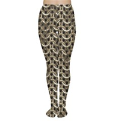 Sparkling Metal Chains 01a Women s Tights