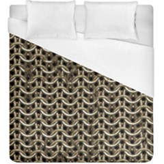 Sparkling Metal Chains 01a Duvet Cover (king Size)