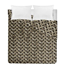 Sparkling Metal Chains 01a Duvet Cover Double Side (full/ Double Size)