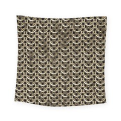 Sparkling Metal Chains 01a Square Tapestry (small)