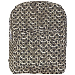 Sparkling Metal Chains 01a Full Print Backpack