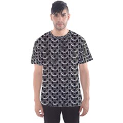 Sparkling Metal Chains 01b Men s Sports Mesh Tee