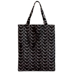Sparkling Metal Chains 01b Zipper Classic Tote Bag